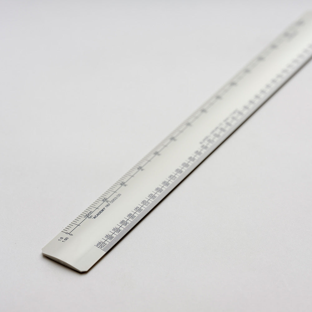 Blundell Harling No 3 Academy Architects Scale Rule 12″ (300mm) - Spectrum Art Shop Birmingham