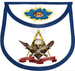 Silence & Circumspection Masonic Apron