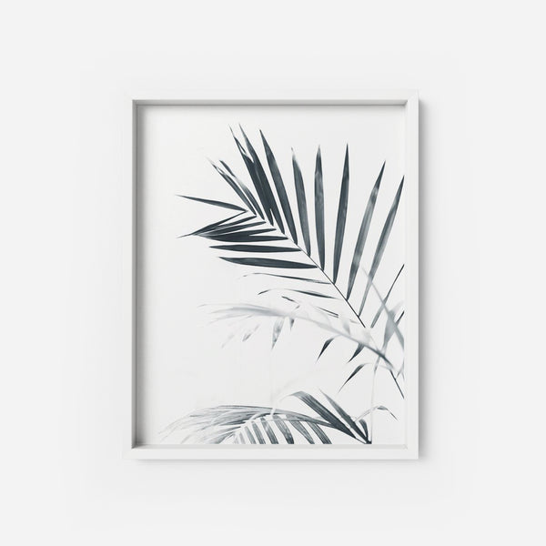 Palm Leaves - THE PRINTABLE CONCEPT - Printable art posterDigital Download -