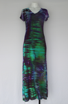 Maxi dress - size Medium - Handful of Gems shibori
