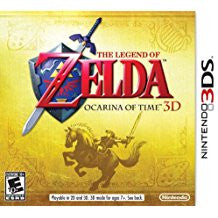 Legend Of Zelda Ocarina Of Time 3D    NINTENDO 3DS