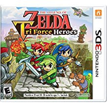 Legend of Zelda Tri Force Heroes    NINTENDO 3DS