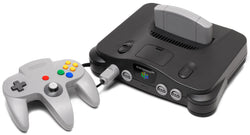 N64 Console with Red Memory Expansion    NINTENDO 64 PRE-PLAYED HARDWARE