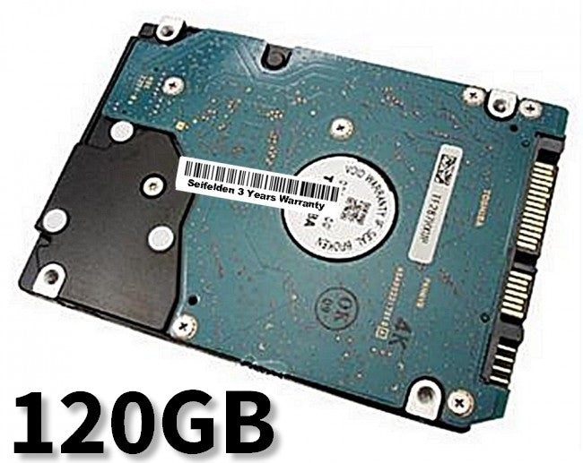 120GB Hard Disk Drive for Toshiba P105 Laptop Notebook with 3 Year Warranty from Seifelden (Certified Refurbished)