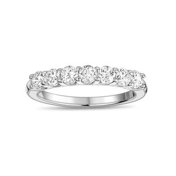 Women Ring - Semi Eternity Stainless Steel Ring