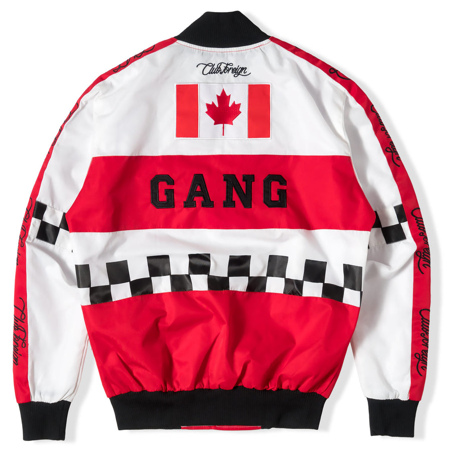 Club Foreign Performance Canada Gang Bomber Jacket - Trends Society