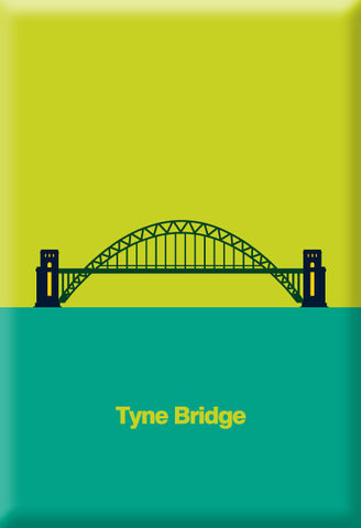 Tyne Bridge Magnet