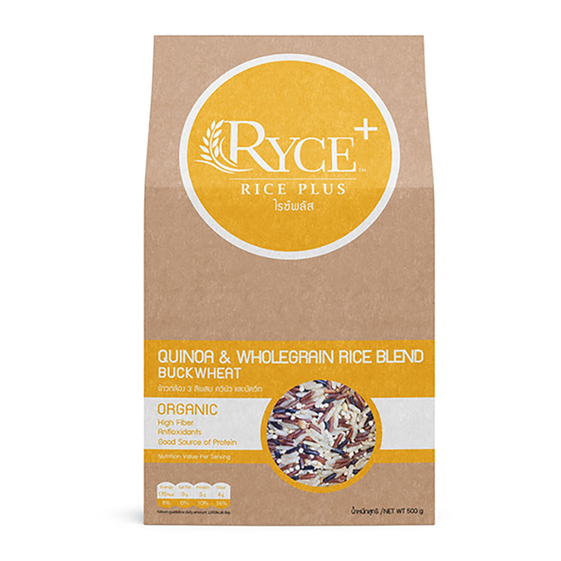 Ryce+ Quinoa & Wholegrain Rice Blend with Buckwheat
