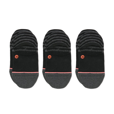 Invisible 3 Pack Black
