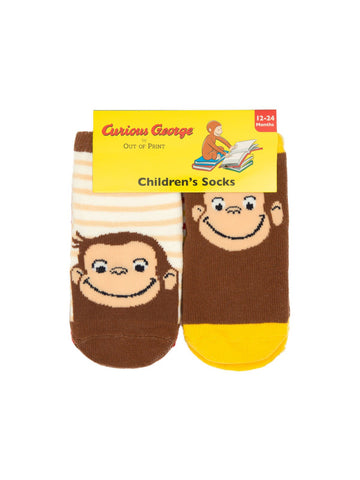 Curious George Baby/Toddler Sock 4-pack