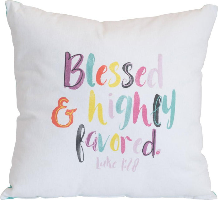 Blessed and Highly Favored Pillow - Carpentree