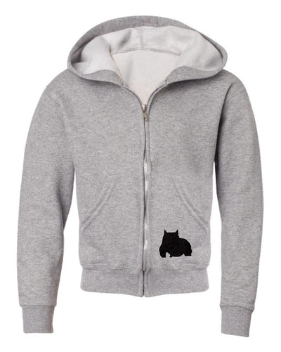BGM Youth Athletic Bully Breed Zip-up Hoodie - BGM Warehouse