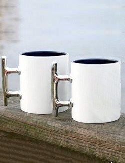 Regatta Cleat Handled Mugs