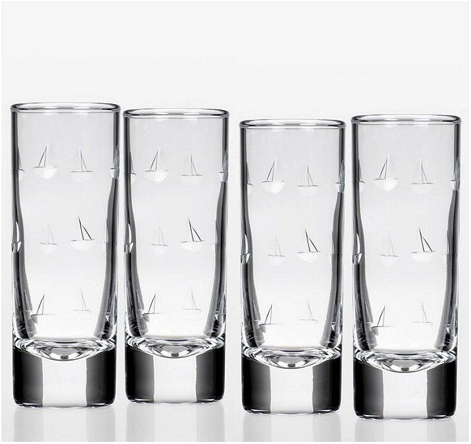 High Seas Sailing Glass Barware Collection