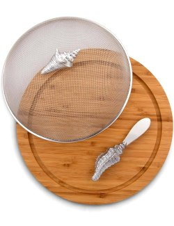 Beach Picnic Covered Serving Board Set