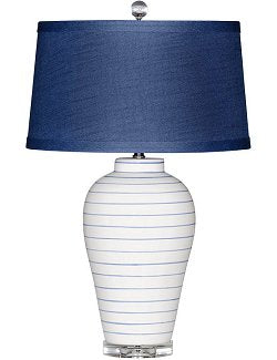 Nautical Classic Pinstripe Table Lamp
