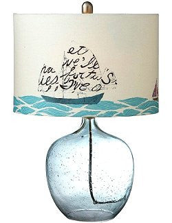 Message In A Bottle Beach House Lamp