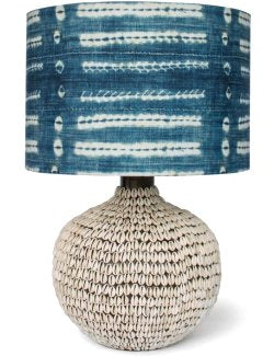 South Pacific Cowrie Shell Table Lamps