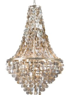 Catalina Abalone Shell Chandelier