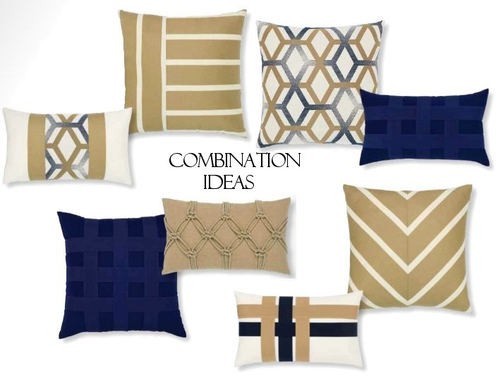 Basket Weave Sunbrella® Outdoor Pillows (6 Colors)
