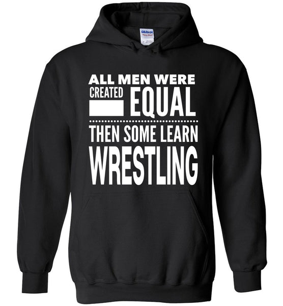 ALL MEN, LEARN WRESTLING Gift For Coach, Team * Heavy Blend Hoodie - ArtsyMod.com