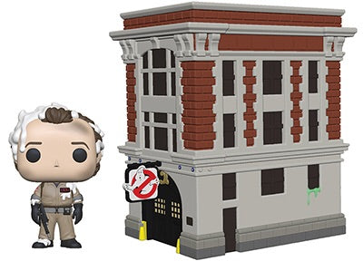 Ghostbusters Firehouse Funko Pop! Town Vinyl figure set preorder new