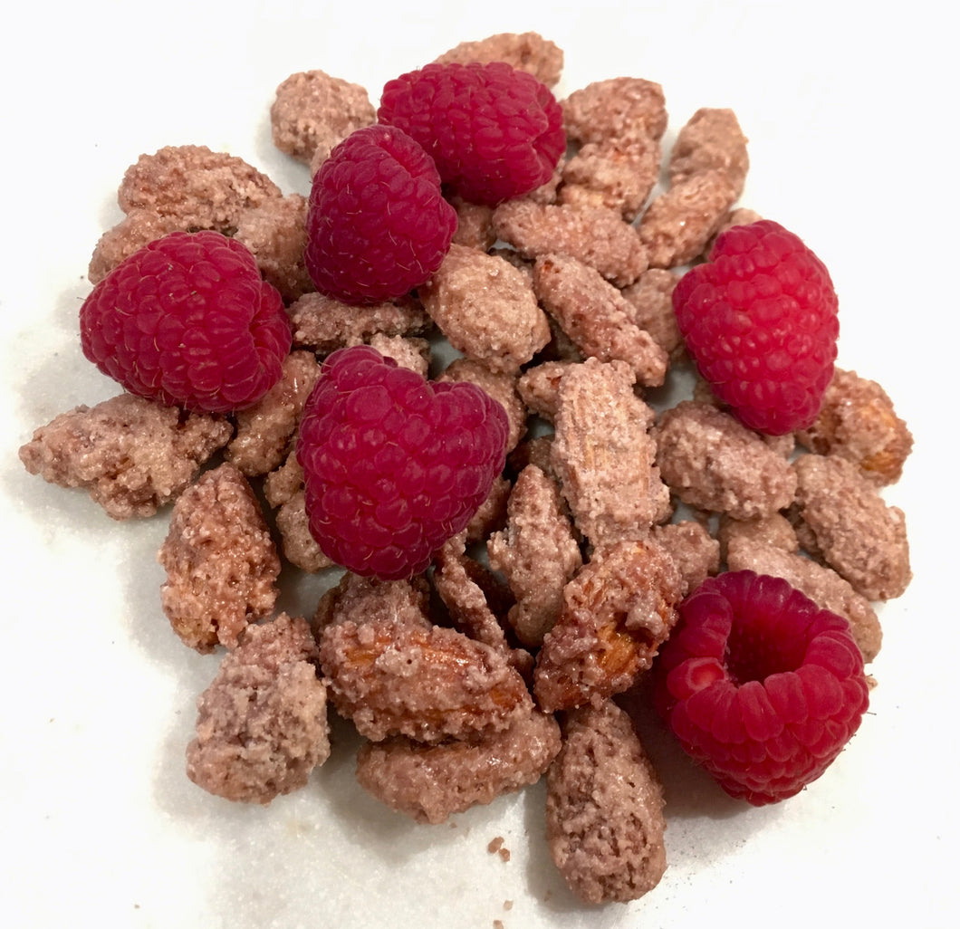 Almonds, Raspberry
