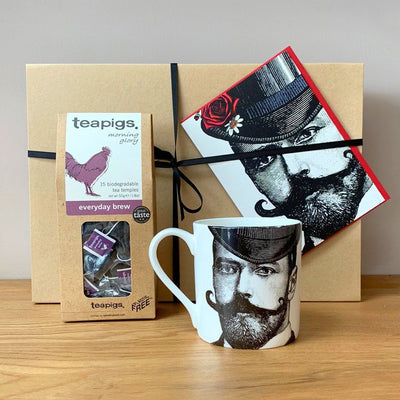 The Dashing Gent Tea Gift Set - Chase and Wonder - Proudly Made in Britain