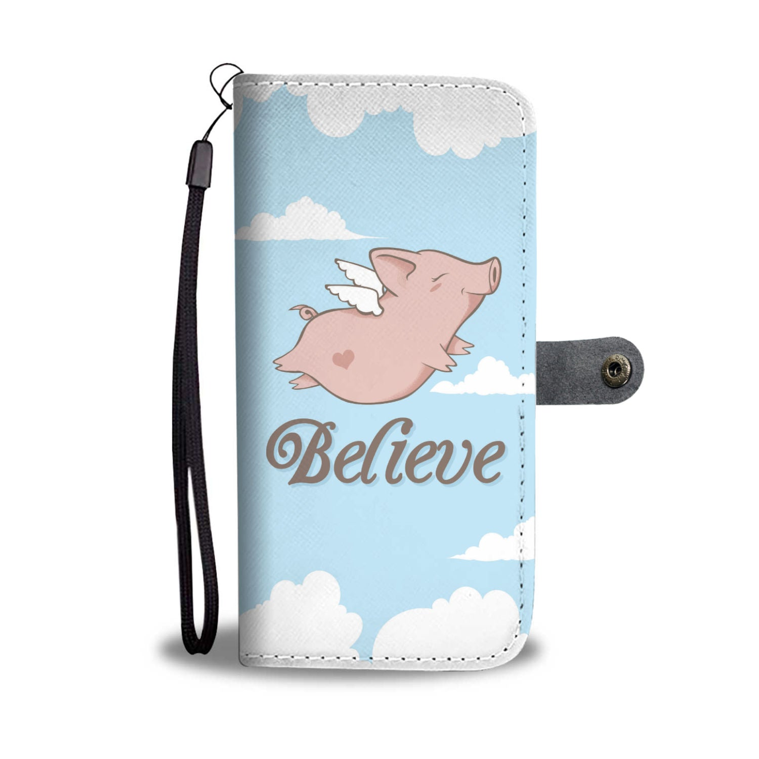Believe Phone Wallet Case