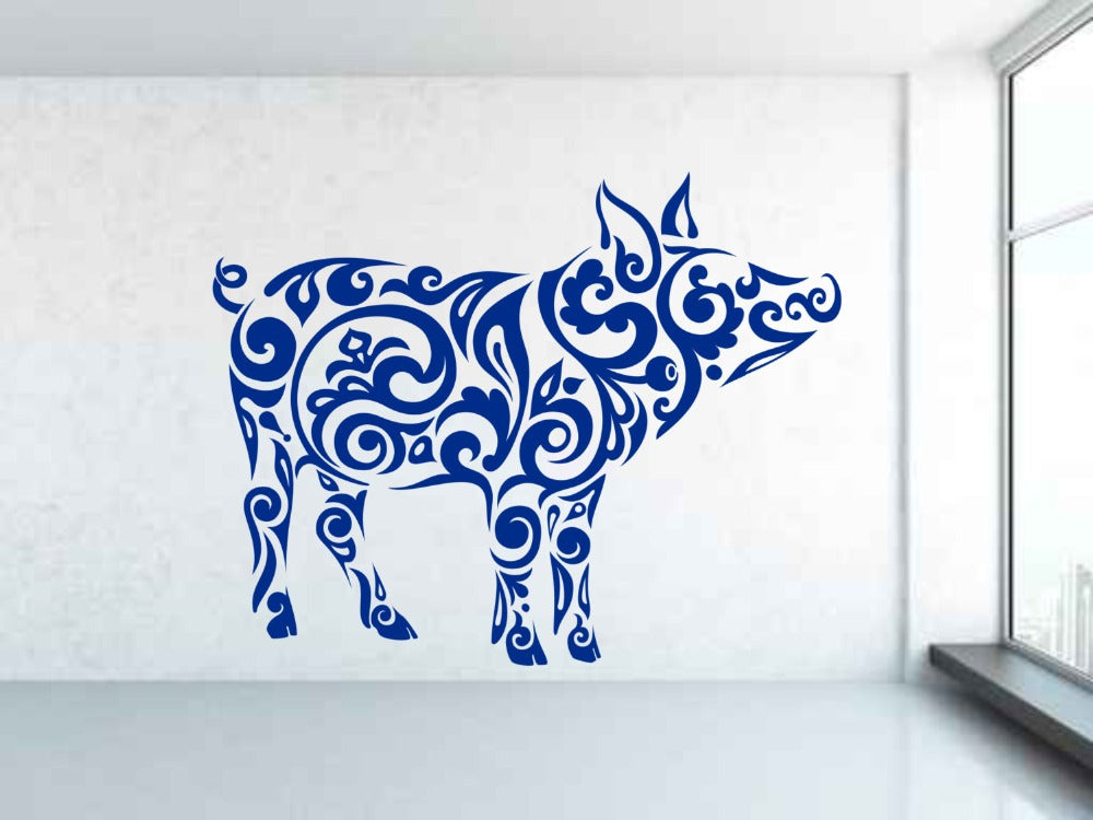 Pig Wall Decal