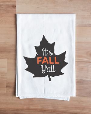 It's Fall Y'all Towel