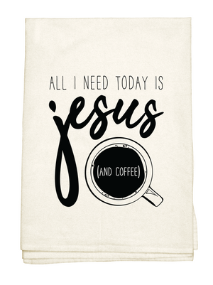 Jesus & Coffee Towel