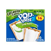 New! Pop Tarts Frosted Crisp Apple - 16ct