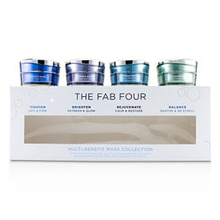 HydroPeptide The Fab Four Multi-Benefit Mask Collection: Miracle Mask + Radiance Mask + Rejuvenating Mask + Balancing Mask 4pcs