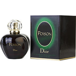 CHRISTIAN DIOR-POISON EAU DE TOILETTE SPRAY 50ML/1.7OZ (NEW PACKAGING)