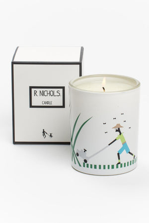 R NICHOLS Candle in Mow