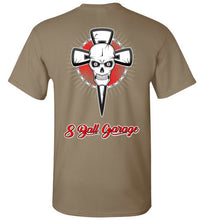 8 Ball Skull & Cross w/ 8 Ball Logo