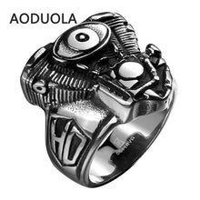 Stainless Steel V-Twin Twin Cam Engine Ring