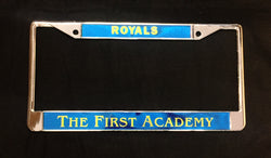 License Plate Bracket Royals