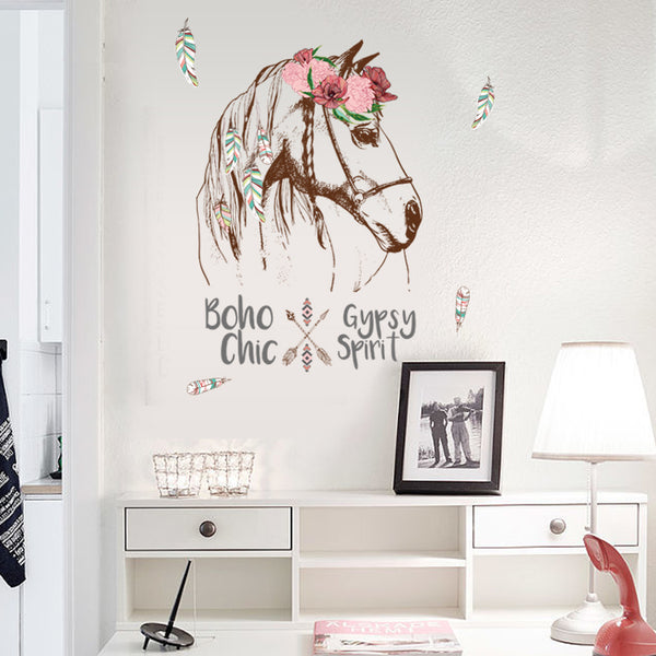 Gypsy Spirit Horse Wall Decor