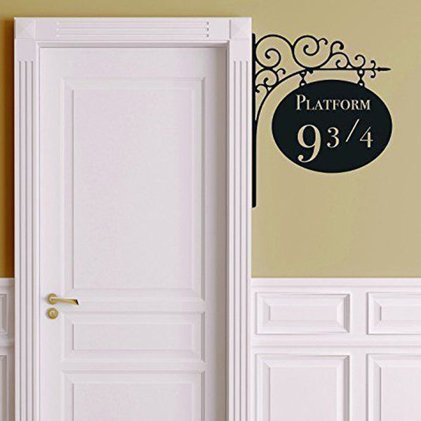 Platform 9 3/4 Harry Potter Door Wall Decor