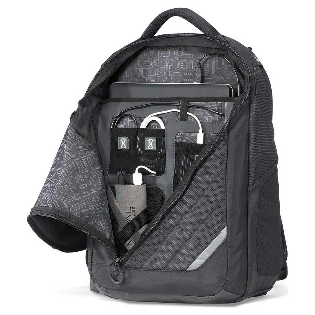 Gemline Black Volt Charging Backpack and Brookstone Compact Power Bank