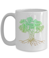 Read Dream Live Learn Imagine Tree Mug