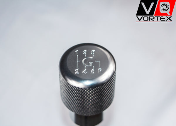 "VQ Vortex Weighted Aluminum Shift Knob -Silver- (""G"" Logo)"