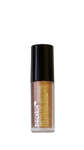 MGLE-10 GOLD  METALLIC GLITTER LIQUID EYESHADOW