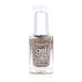 NG83 - New Gel Nail Polish New Silver Glitter