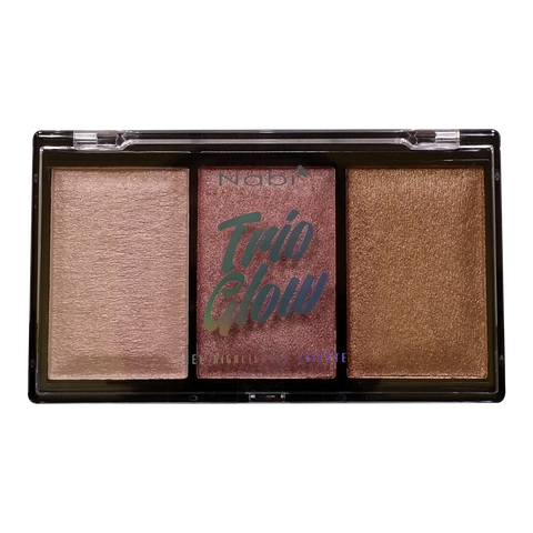 HLP-24(01)  NABI TRIO GLOW GEL HIGHLIGHTER PALETTE