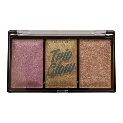 HLP-24(03)  NABI TRIO GLOW GEL HIGHLIGHTER PALETTE