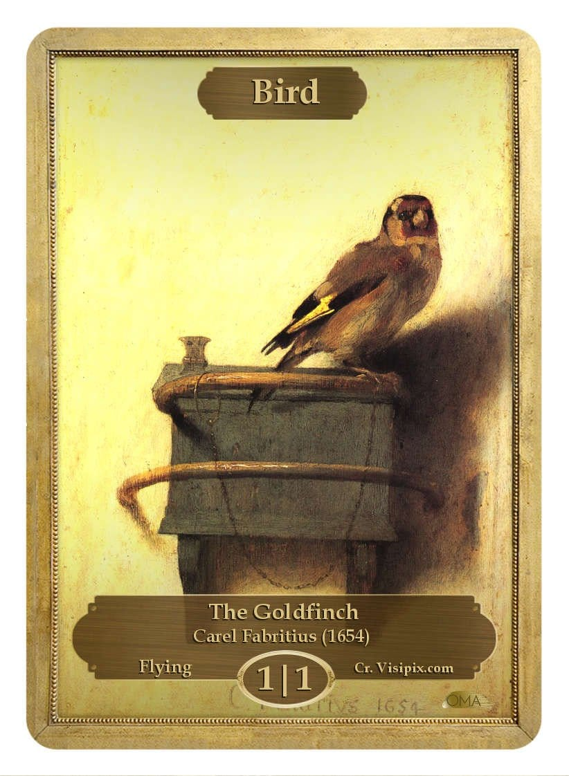 Bird Token (1/1) by Carel Fabritius