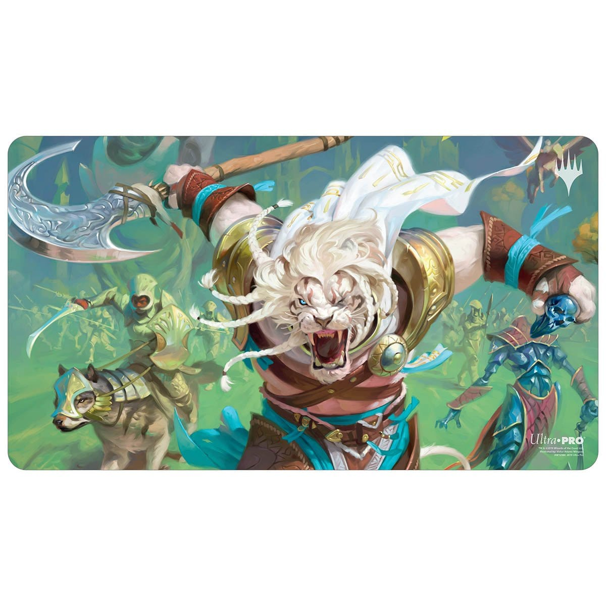 Ajani, the Greathearted Playmat